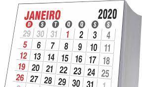 Confira calendário de feriados e pontos facultativos de 2020 | Brasil |  Pleno.News